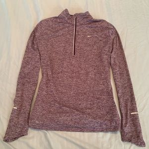 Women's dri fit zip up jacket